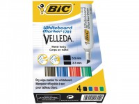 Whiteboardmarker BIC Velleda1781 ass/et4